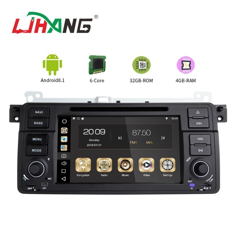 Android 8.1 PX6 BMW GPS DVD Player With AM FM MP4 MP3 Audio Player