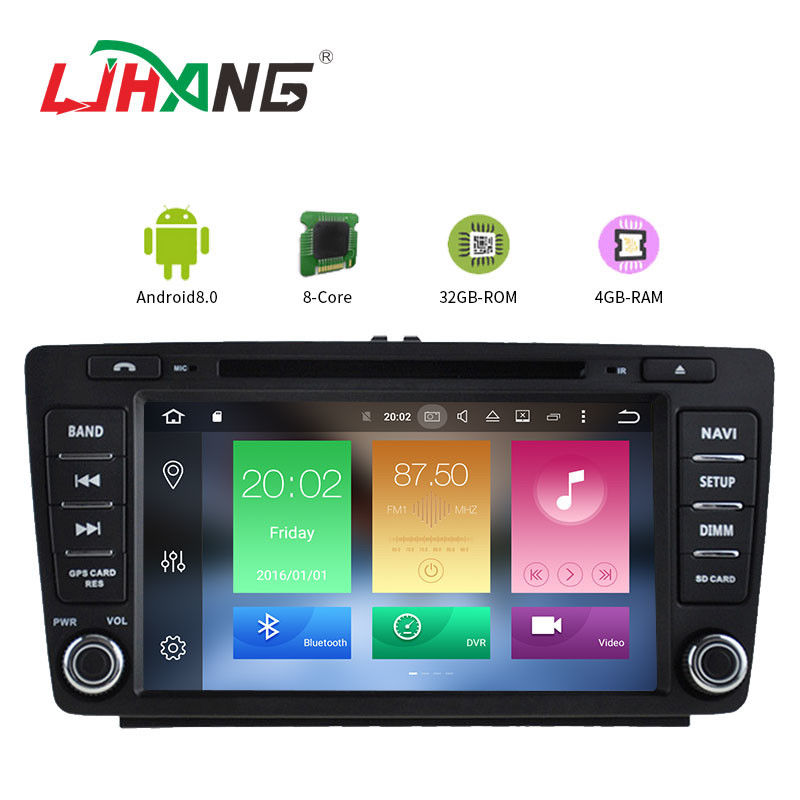 Automotive Volkswagen Touareg Dvd Player Quad Core 8*3Ghz 1280*600 Resolution