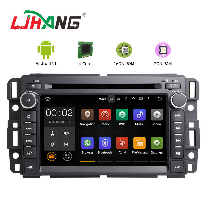 7.1 Android Car DVD Player GPS Canbus Steering Wheel Control Multi - Language