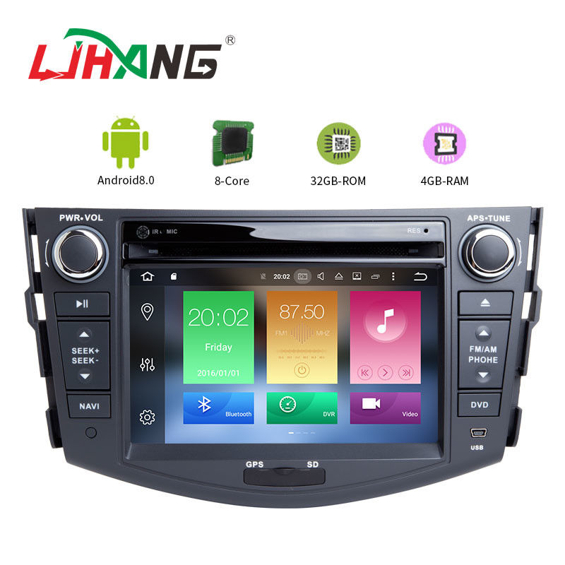 Built - In GPS Toyota Touch Screen Car Stereo Player With Wifi BT GPS AUX Video